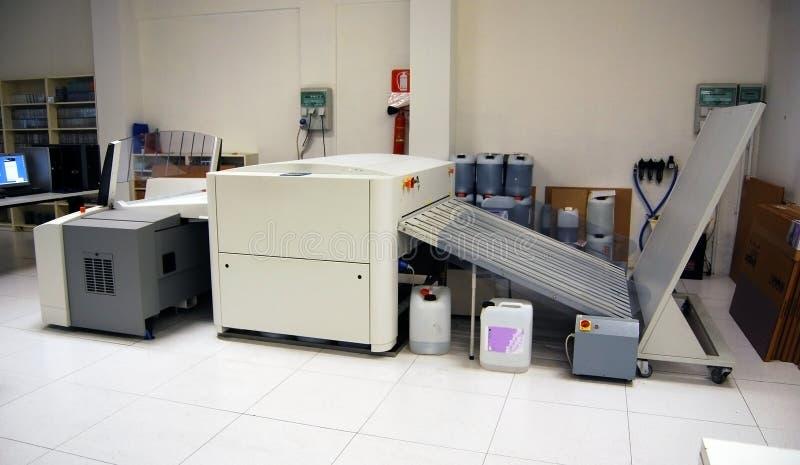 behandling för printing för datorctp-platta till royaltyfri foto