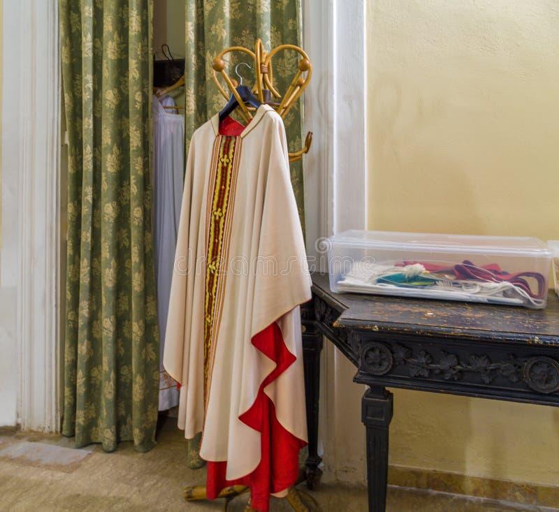 Behandlungen für die katholische Masse lizenzfreies stockbild