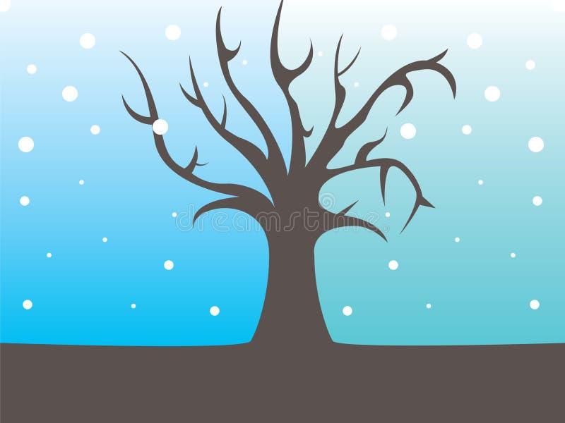 Behang Kerstmis-Themed royalty-vrije illustratie