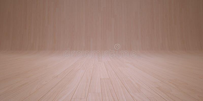 Behang licht hout stock illustratie