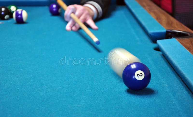 Download Behind The 2 Ball. Stock Images - Image: 7669694