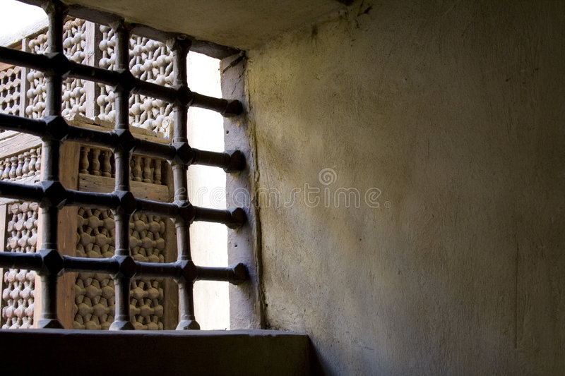 Download Behind Bars... Light Outside Stock Photo - Image: 3533664