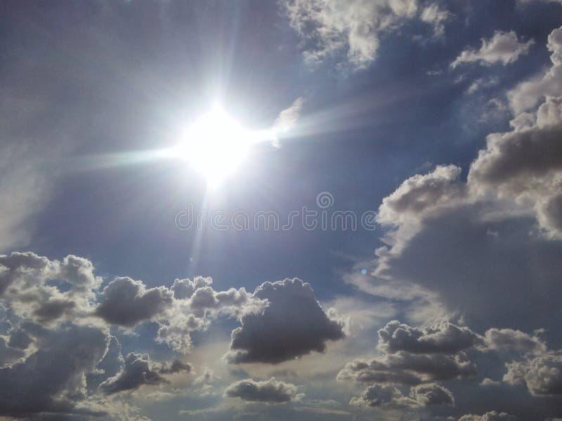 Behind Every Dark Cloud royalty free stock photos