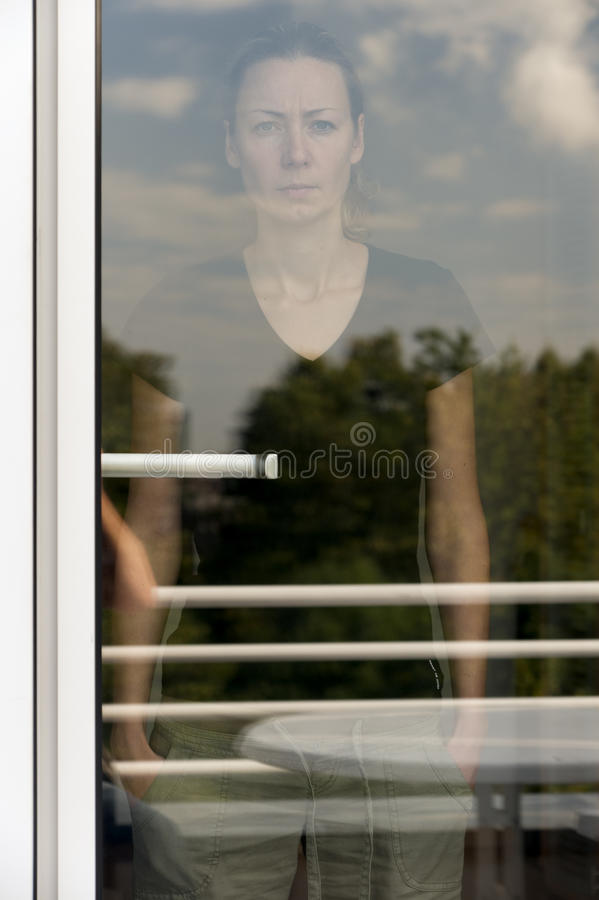 Download Behind glass stock photo. Image of window, reflections - 20873142