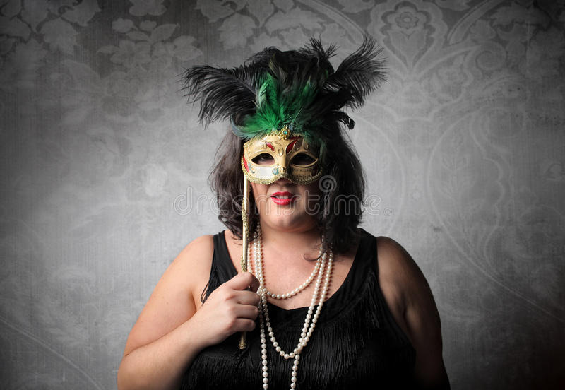 Download Behind a mask stock photo. Image of venetian, party, portrait - 16453322