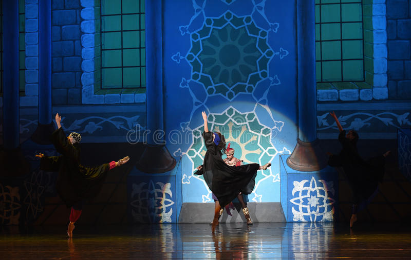 """Behind the truth- ballet """"One Thousand and One Nights"""" stock photos"""
