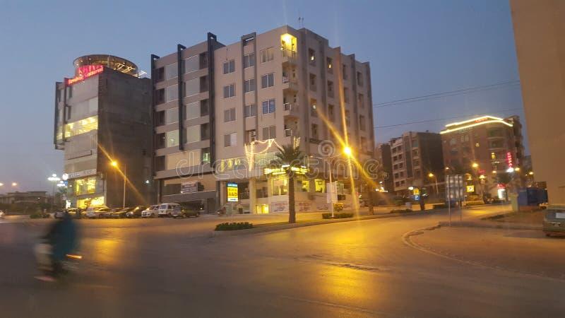 Behri-Stadt Pakistan lizenzfreies stockfoto