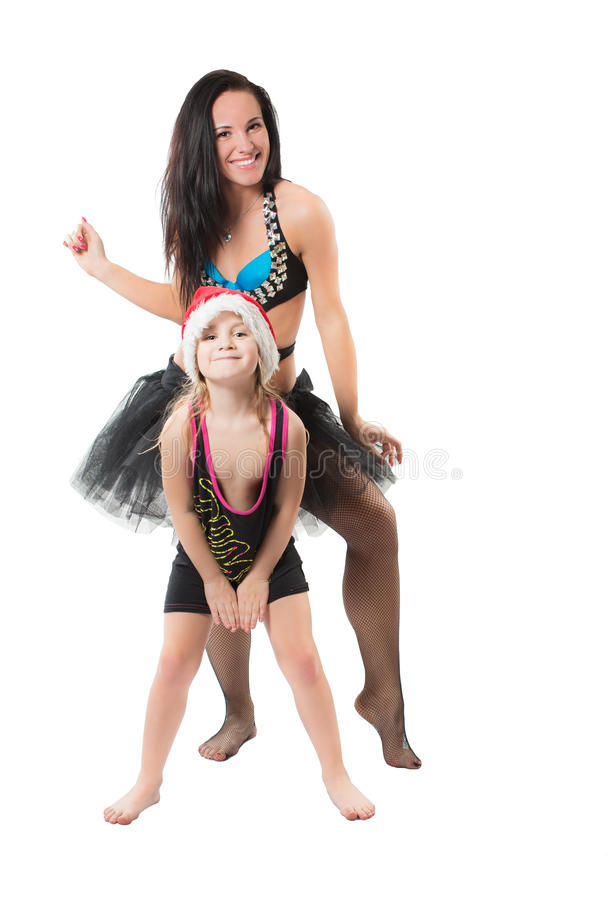 Bei ballerino e ragazza sexy immagini stock libere da diritti
