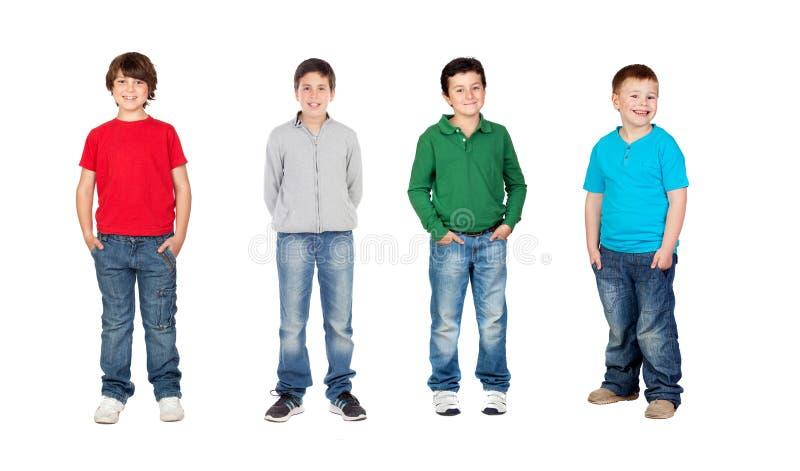 Bei bambini fotografia stock libera da diritti