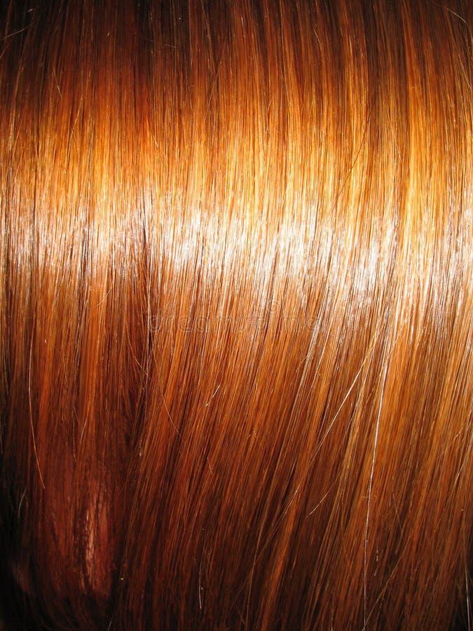 Bei capelli brillanti fotografie stock