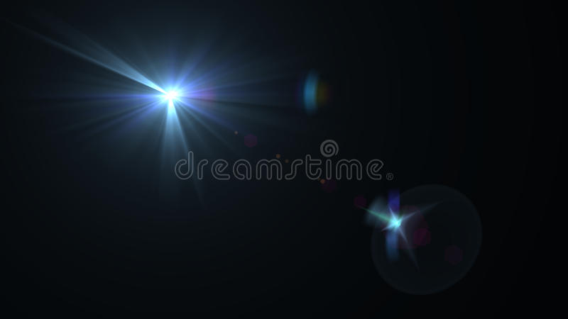 Bei chiarori della luce immagine stock