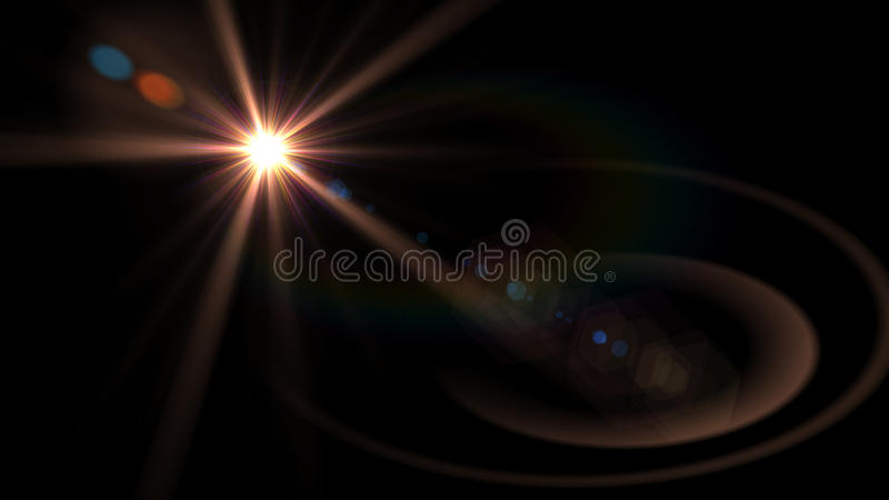 Bei chiarori della luce immagini stock libere da diritti
