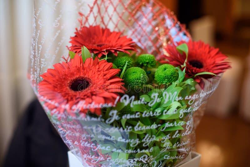 Bei fiori freschi, mazzo di bei fiori freschi Compleanno celebrazione immagine stock
