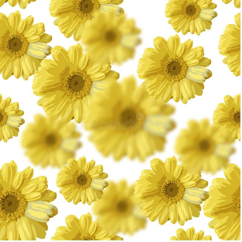Bei fiori gialli fotografia stock