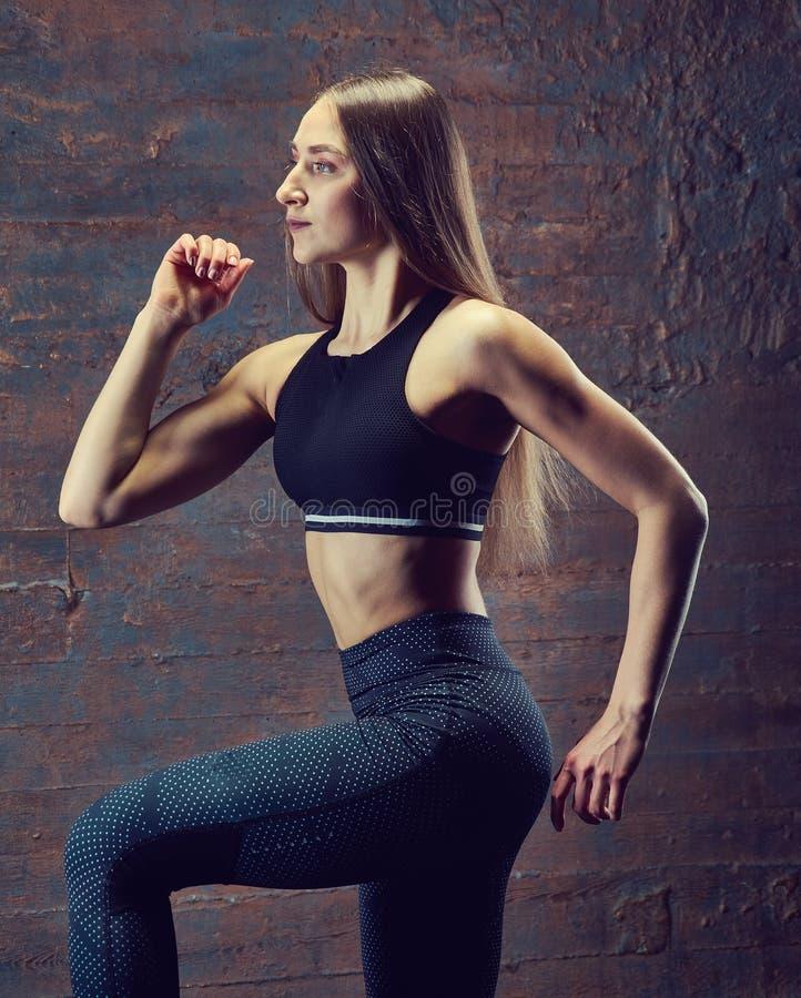 Bei giovani atletici sexy fotografia stock