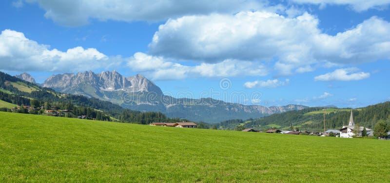 Bei Kitzbuehel, le Tirol, Autriche de Reith images stock