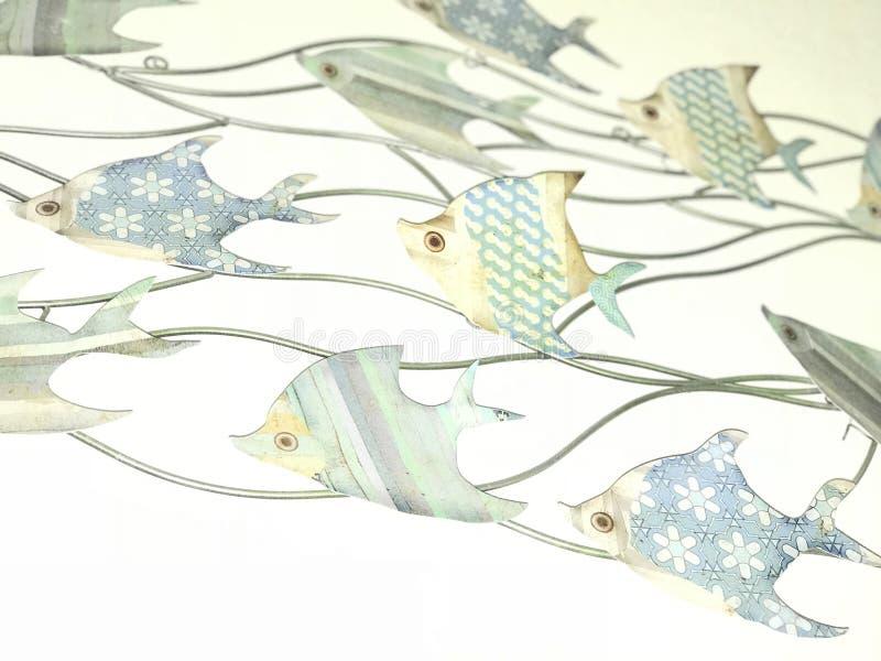 Bei pesci astratti del mare fotografia stock libera da diritti
