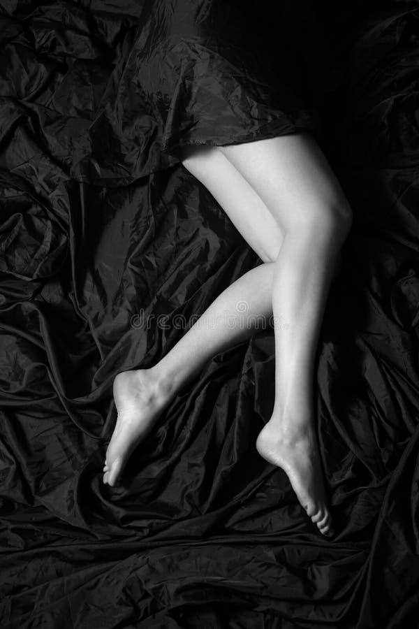 Bei piedini fotografie stock