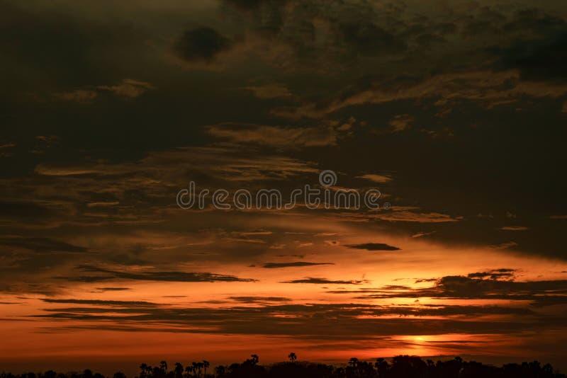 Bei tramonti di estate fotografie stock libere da diritti