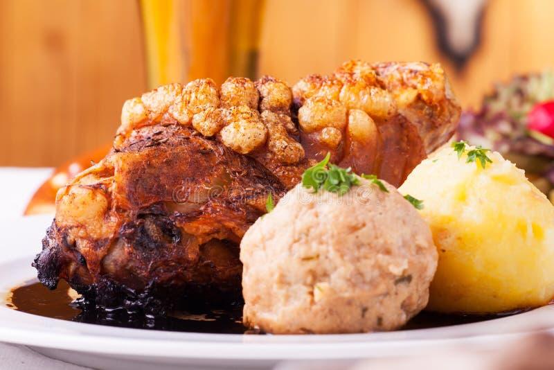 Beiers gewricht van varkensvlees stock afbeeldingen