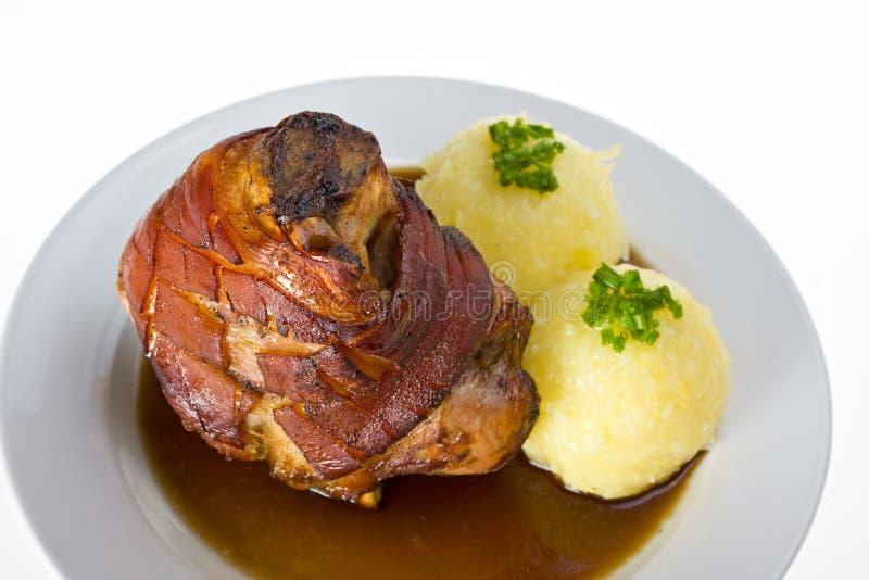 Beiers gewricht van varkensvlees royalty-vrije stock foto