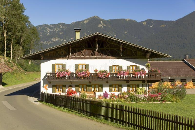 Beiers Huis stock afbeeldingen