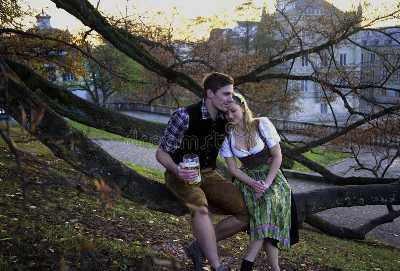 Beiers Paar in liefde
