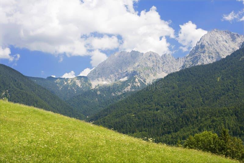 Beierse alpen royalty-vrije stock afbeeldingen