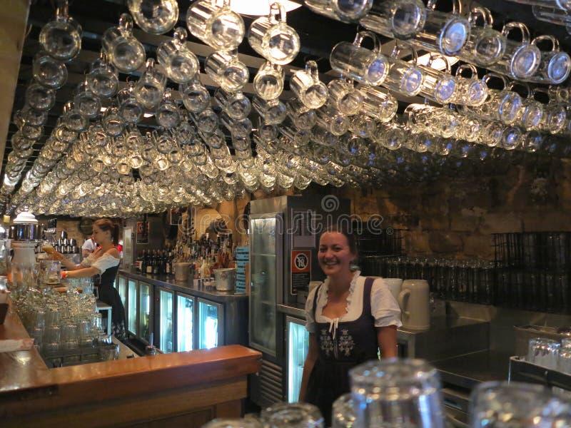 Beierse bar royalty-vrije stock afbeelding