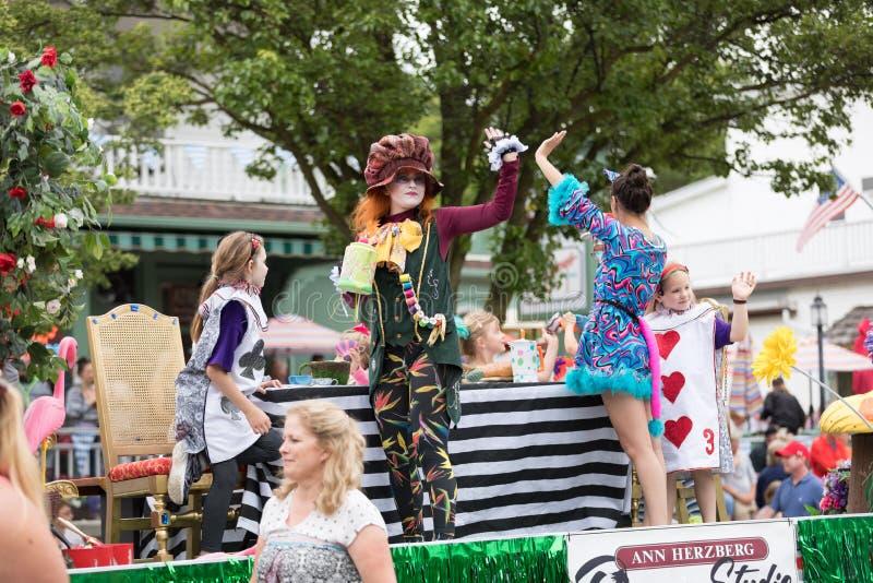 Beierse Festivalparade royalty-vrije stock afbeelding