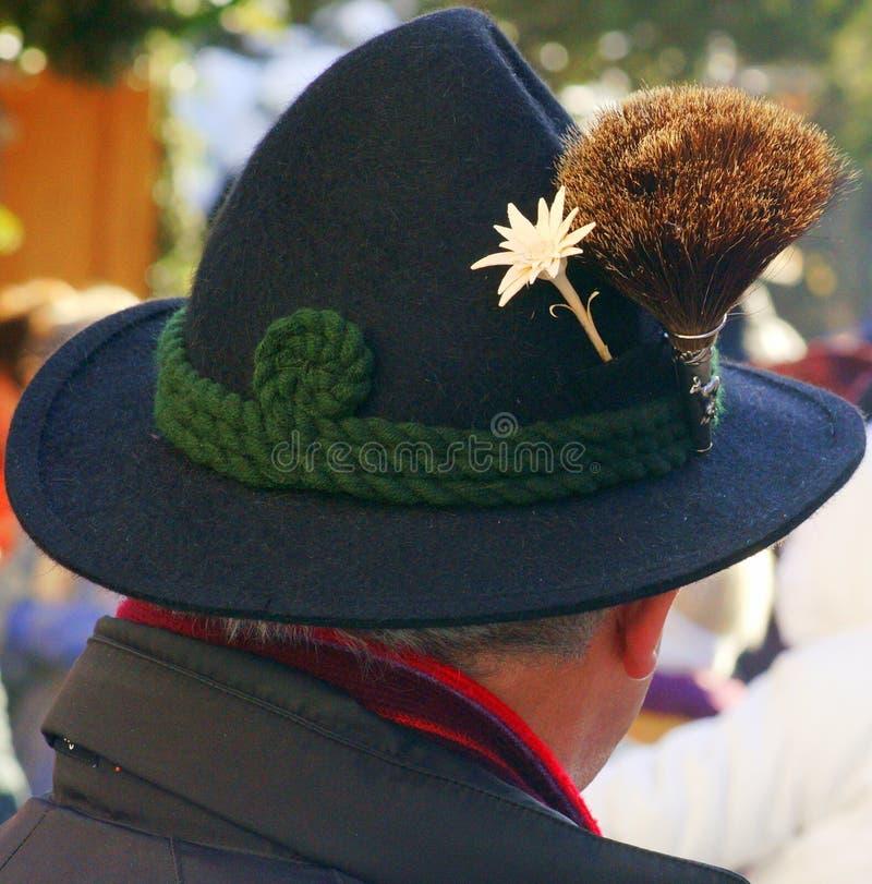 Beierse hoed royalty-vrije stock afbeeldingen