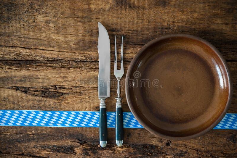 Beierse keuken royalty-vrije stock foto's