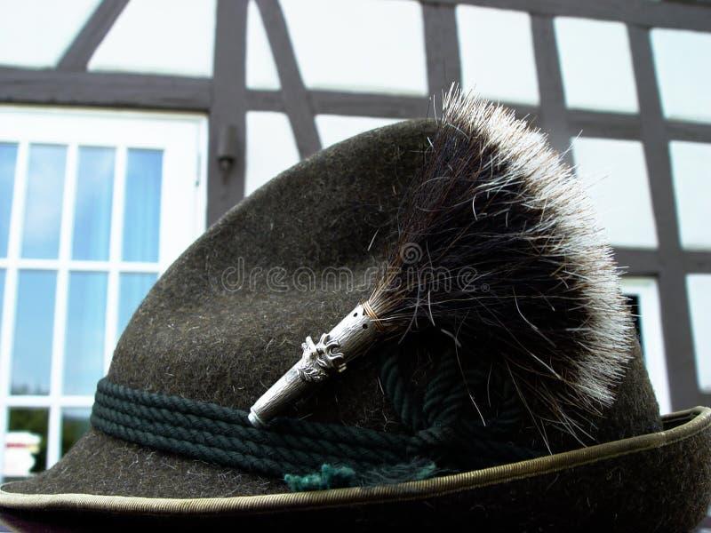 Beierse Kostuumhoed Royalty-vrije Stock Foto's