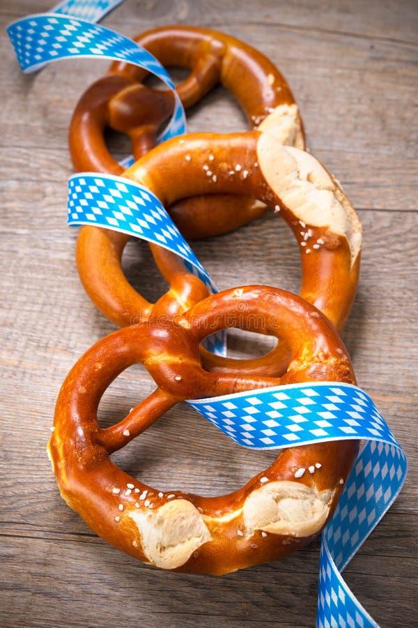 Beierse Pretzels stock fotografie