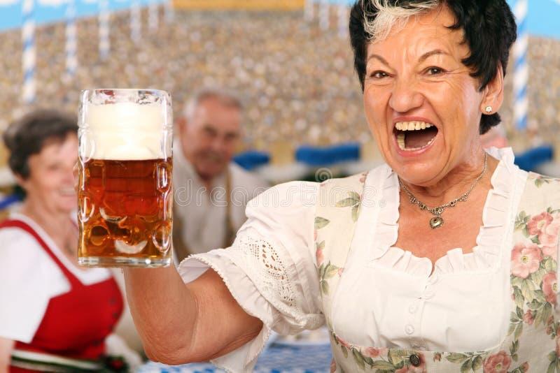 Beierse Werkgevers stock foto