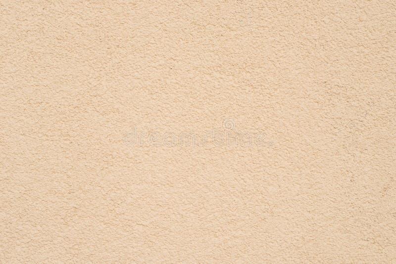 Beiga målad väggtexturbakgrund royaltyfri foto