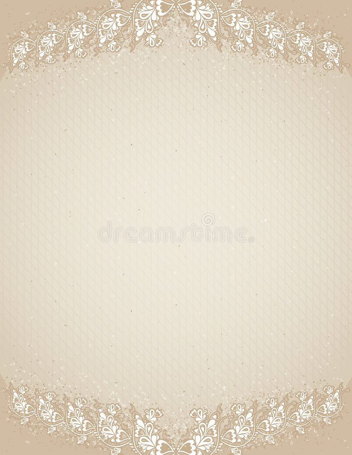 Beige Antique Background,vecto Royalty Free Stock Images