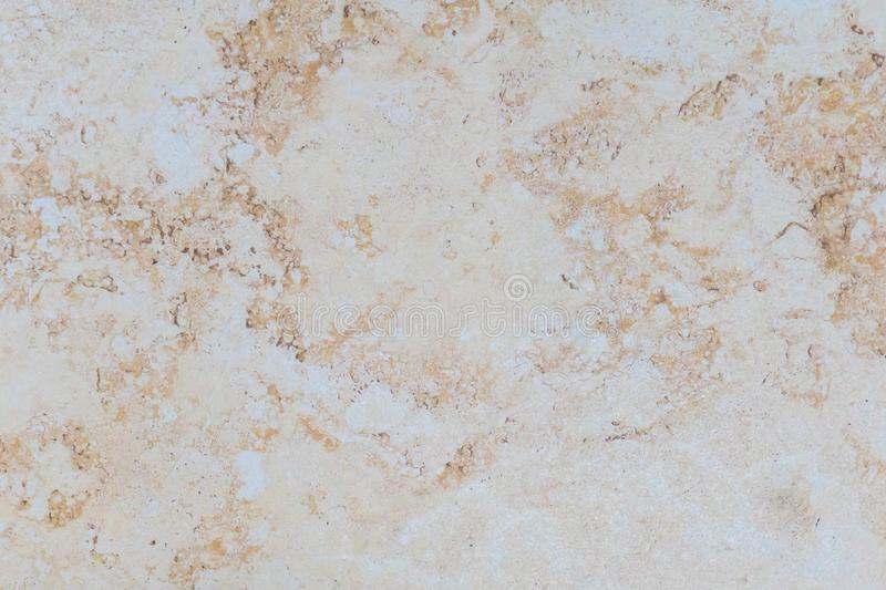Beige background artificial marble. light brown royalty free stock image