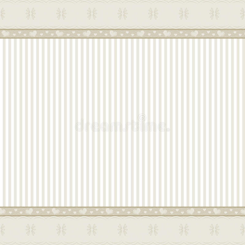 Download Beige Background With Lace Frame Stock Illustration - Image: 10043798