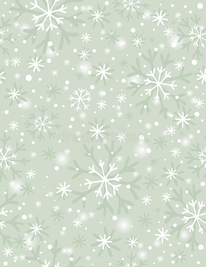 Download Beige Background With Snowflakes,  Vector Stock Vector - Image: 34110280