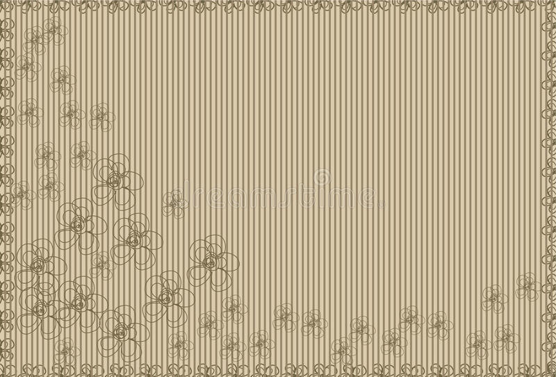 Beige background with stripes royalty free stock photos