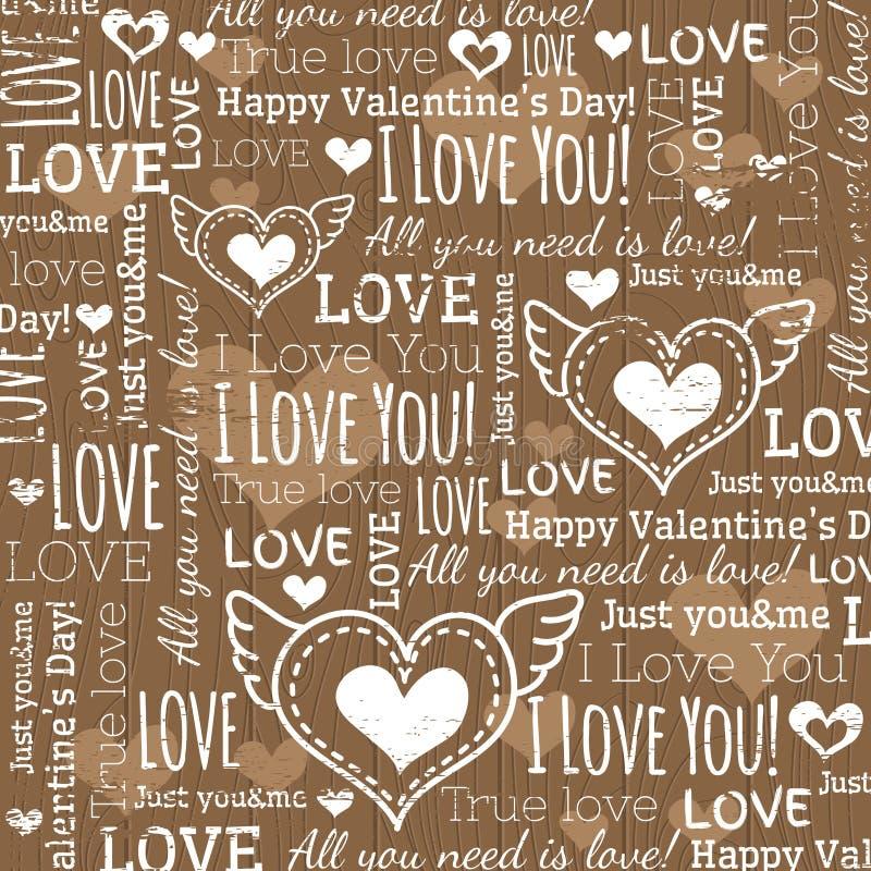 Beige background with valentine heart stock photos