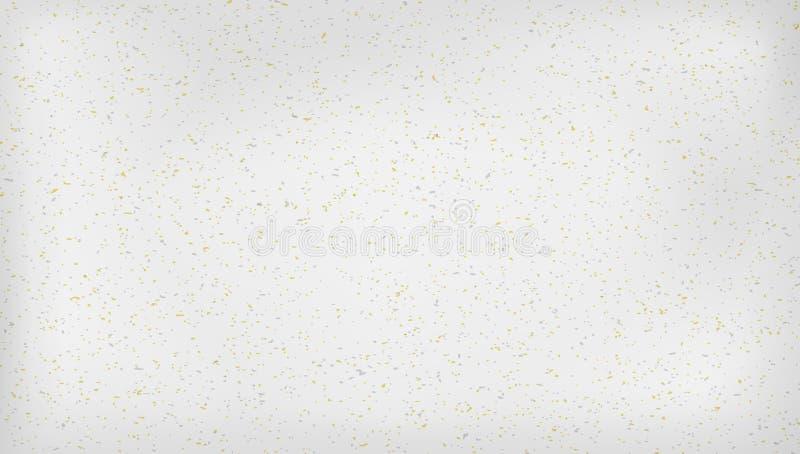 Beige bereitete beschmutzte horizontale Briefpapierbeschaffenheit, hellen Hintergrund auf stock abbildung