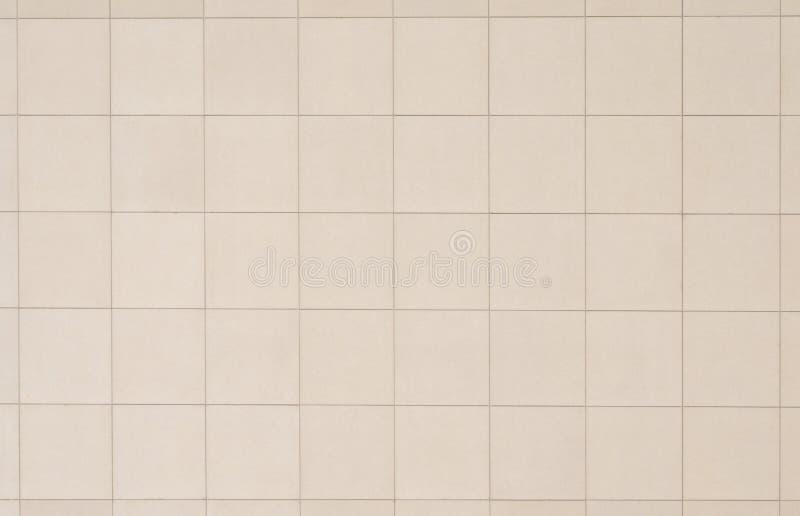 Beige betegelde muur stock afbeeldingen afbeelding 20327844 - Betegelde badkamer chocolade beige ...