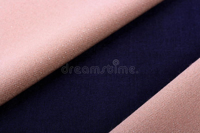 Download Beige and blue fabric stock photo. Image of dark, textile - 12378378