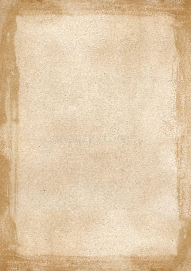 beige brown grunge retro border textured background