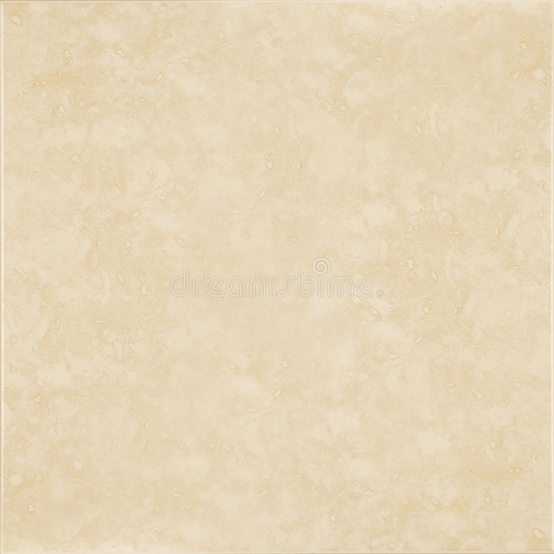 Beige ceramic tile. With light stucco texture royalty free stock photo