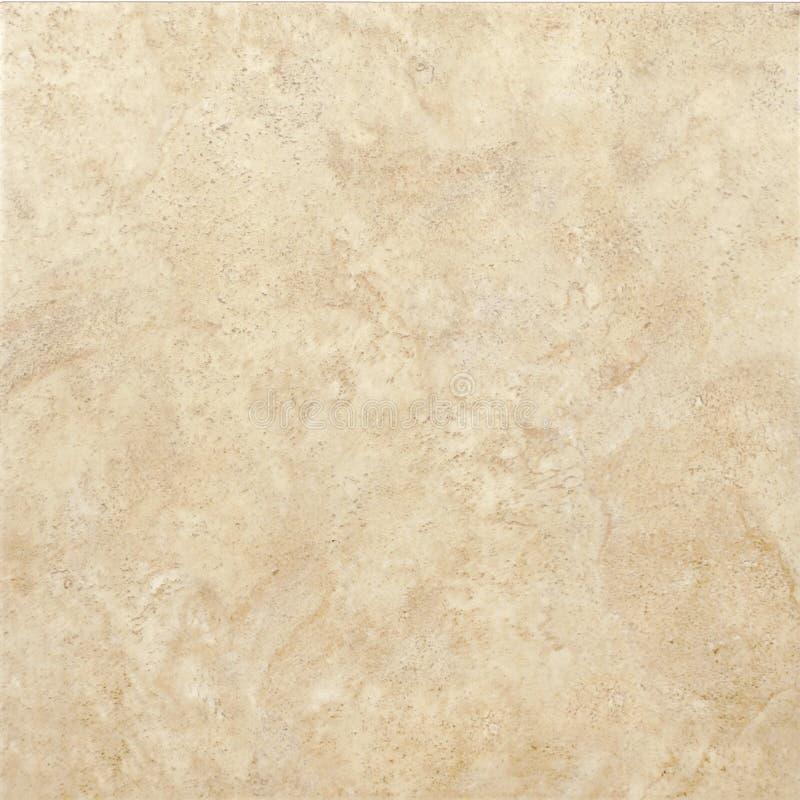 Beige ceramic tile royalty free stock image