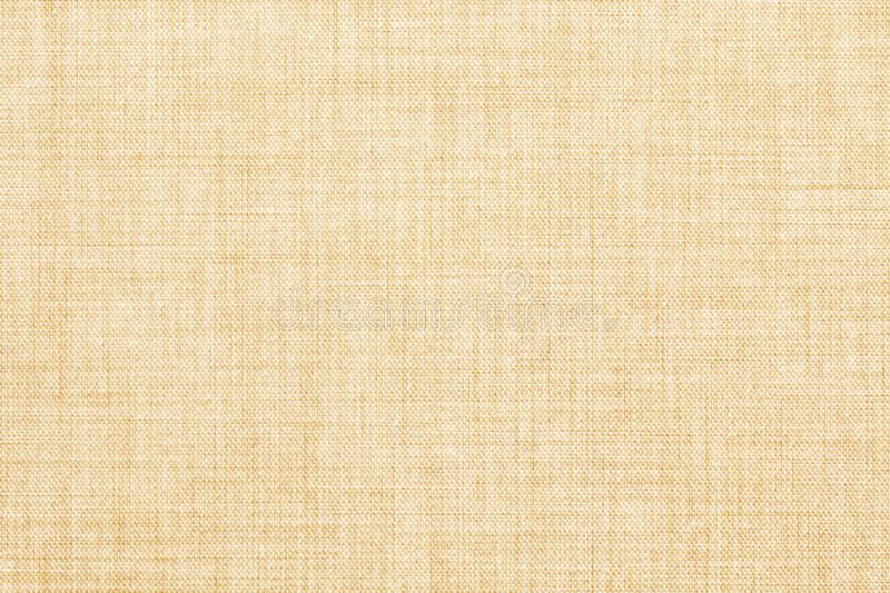 Beige colored seamless linen texture or fabric canvas background stock photography