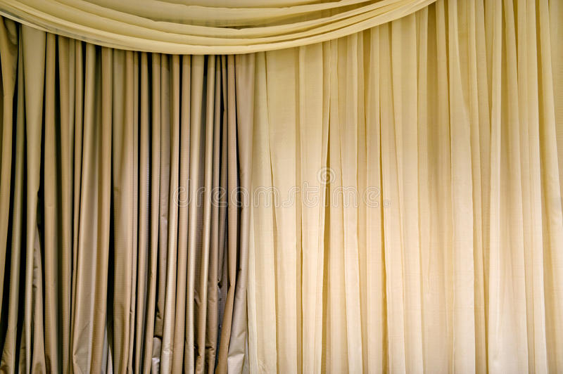 Download Beige curtain stock photo. Image of copy, textile, texture - 26191394